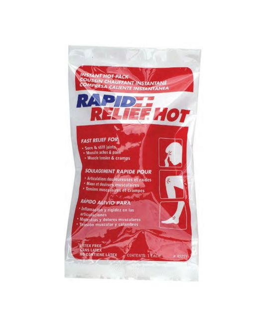 """Rapid Relief Instant Hot Pack Large (5"""" x 9"""")"""