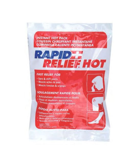 """Rapid relief Instant Hot Pack Small (4"""" x 6"""")"""