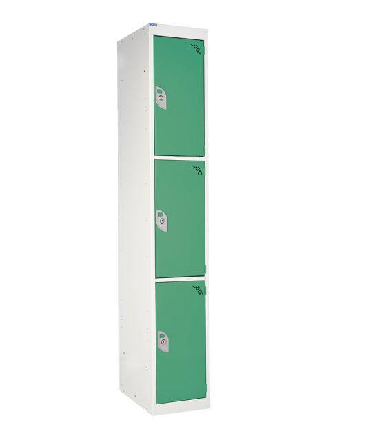 3 Compartment Locker Green (1800 x 380 x 380mm)