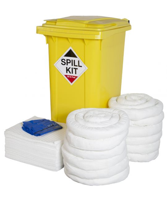 QHSE Approved Oil Only Spill Kit 240l