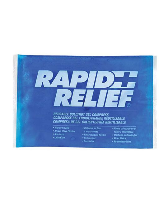 """Rapid Relief Reusable Hot/Cold Gel Small (4"""" x 6"""")"""