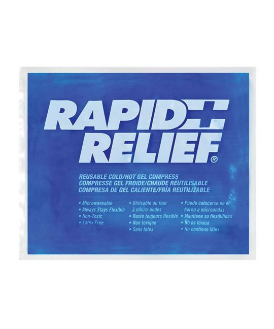 """Rapid Relief Reusable Hot/Cold Gel Large (5"""" x 9"""")"""
