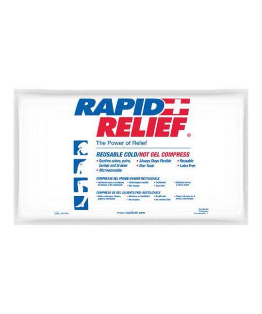 """Rapid Relief Deluxe Hot/Cold Gel (6"""" x 5"""")"""