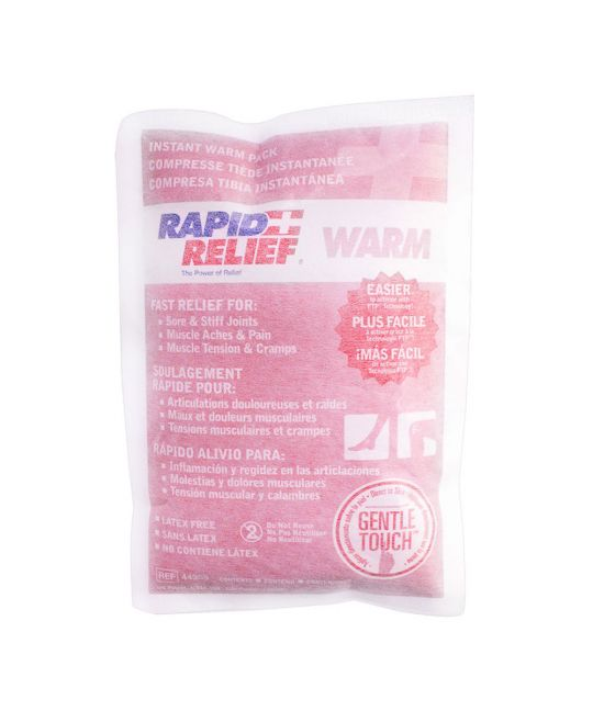 """Rapid Relief Warm Pack Gentle Touch Large (5"""" x 9"""")"""